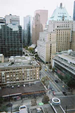 Sutton Place Hotel Vancouver: A snapshot from my Film Reel
