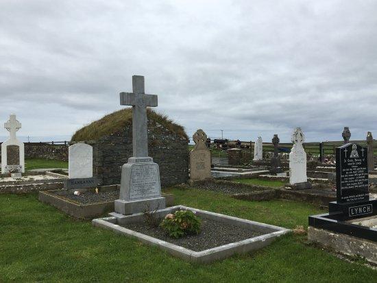Achill Island, Irland: cementerio