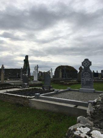 Achill Island, Ierland: cementerio