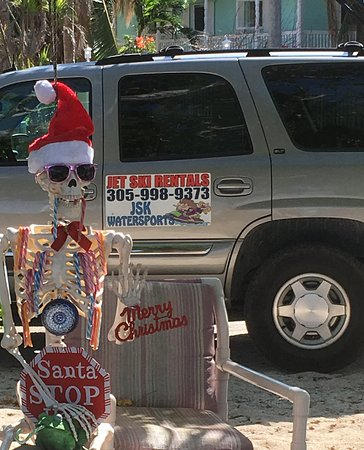Tavernier, FL: Happy holidays from Larry