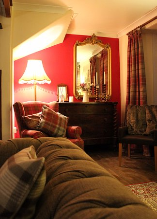 Dalwhinnie, UK: Cosy Living Room