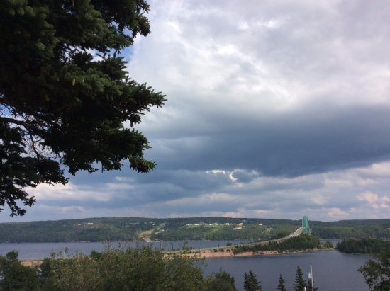 North Sydney, Canada: View from the Terraced campgrounds