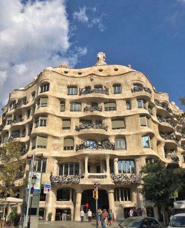 Picture of casa mila la pedrera barcelona tripadvisor - Casa mila la pedrera ...
