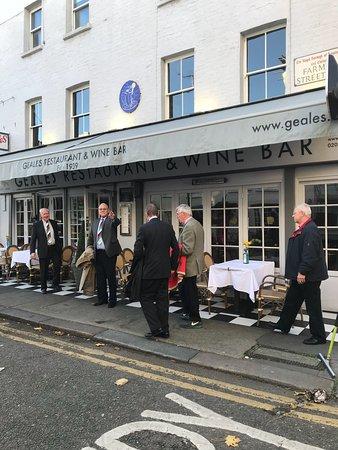 Geales Restaurant London