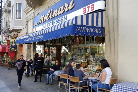 Molinari Delicatessen: Exterior.