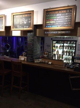 Cumberland, Kanada: Beer Menu