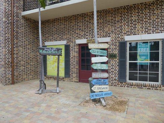 Jimmy Buffett's Margaritaville : Outside Sign