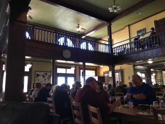Bertram, TX: Interior...charming Old West Hotel/Bar