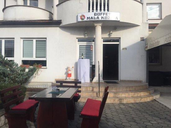 Kastav, Kroatië: Buffet Mala Kuzina