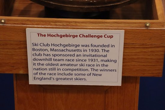 Franconia, NH: A special Challenge Cup