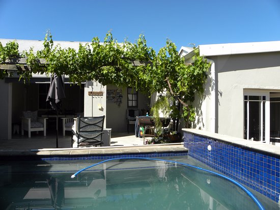 Darling, South Africa: Relax at the pool