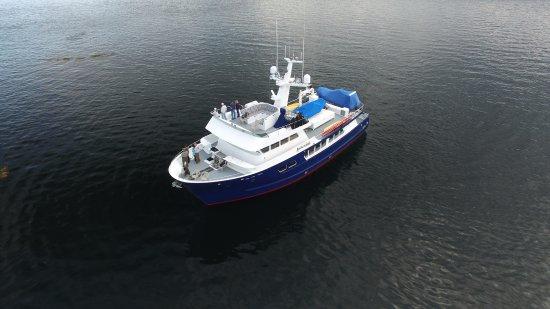 Petersburg, AK: Alaska charter yacht Northern Song