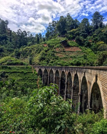 Kaduwela, Sri Lanka: Nine Arches Bridge near Ella.  The highlight of my time(s) in Sri Lanka