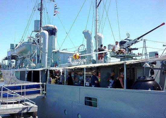 Williamstown, Αυστραλία: Boat tour at Gem Pier, Williantown.