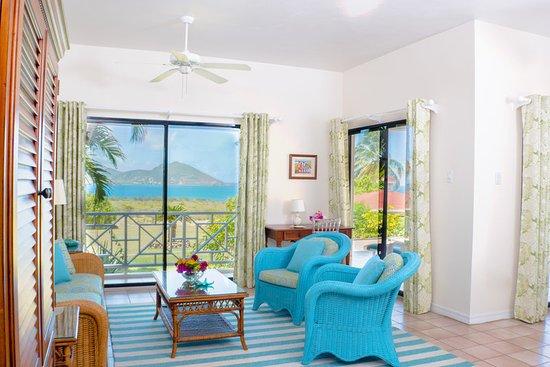 Newcastle, Nevis: Ocean View Suite