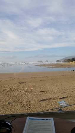 Land's End at Cannon Beach張圖片