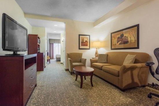 King Junior Suite Picture Of Hilton Garden Inn Meridian Meridian Tripadvisor