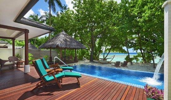 Silhouette Island, سيشيل: Swimming Pool, Deluxe Beachfront Pool Villa