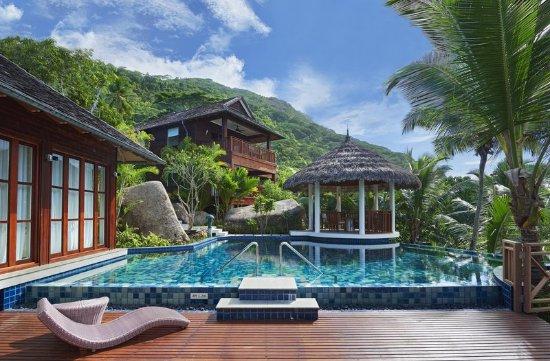 hilton seychelles labriz resort spa silhouette island reviews photos price comparison. Black Bedroom Furniture Sets. Home Design Ideas