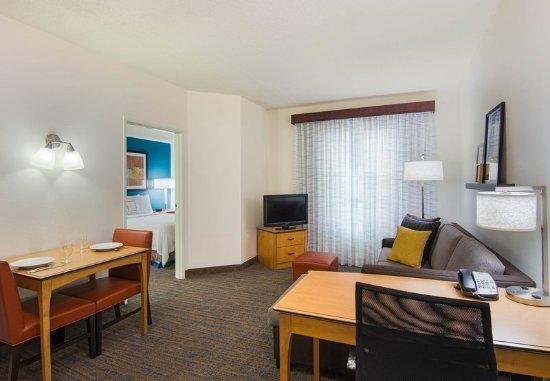Miramar, FL: One-Bedroom Suite – Living Area