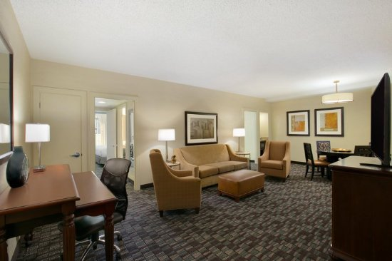 Bon Embassy Suites By Hilton New Orleans Convention Center: Deluxe Two Bedroom  Suite Living Room