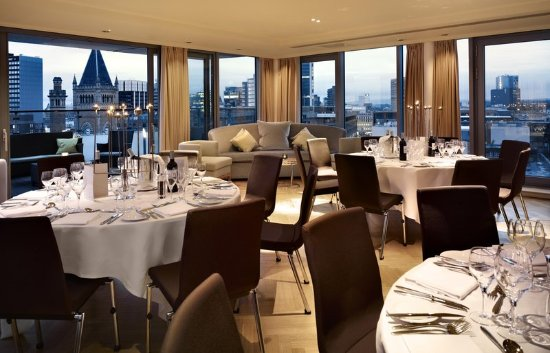 DoubleTree by Hilton Manchester Piccadilly: Skylounge