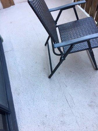 Crestline, CA: Balcony