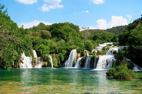 Krka-Wasserfälle und Sibenik...