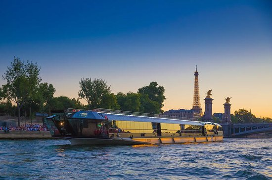 3-Hour Seine River Cruise with Dinner...