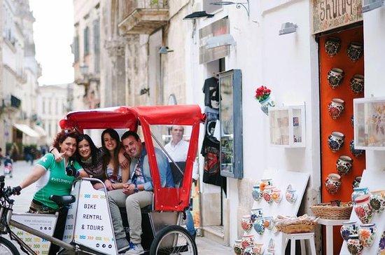 Lecce Shopping Tour by Rickshaw
