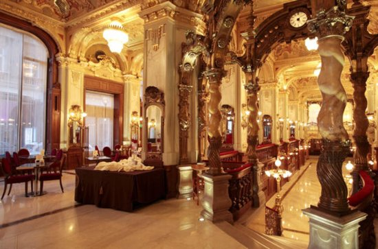 Budapest Historic Cafes Small-Group...