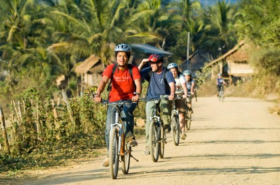 Small-group Countryside Bike Tour from Luang Prabang