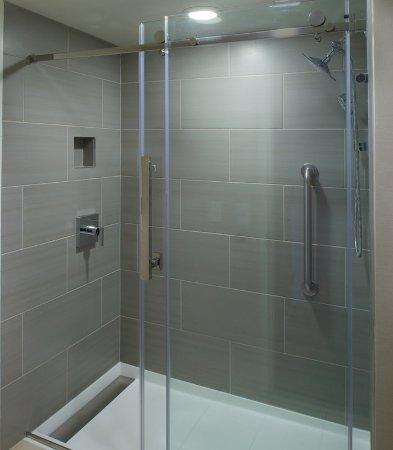 East Lansing, MI: Guest Bathroom - Shower
