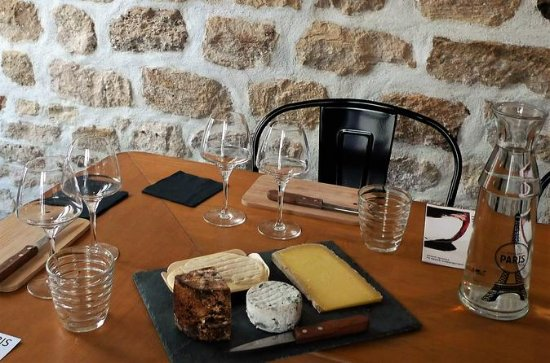 Paris Wine and Cheese Pairing...