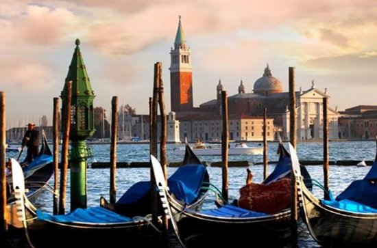 Private Venice Walking Tour and Gondola from Rome by Train