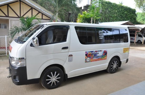 Van Transfers From  Airport or  Hotel to Elnido
