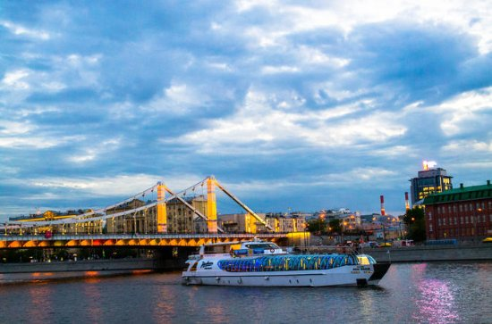 Moscow River Cruise with Free Dessert