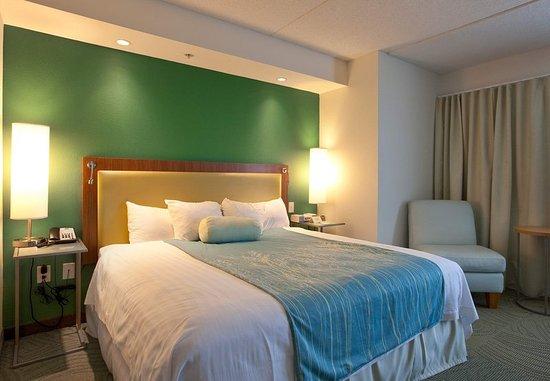 Athens, GA: King Suite Sleeping Area
