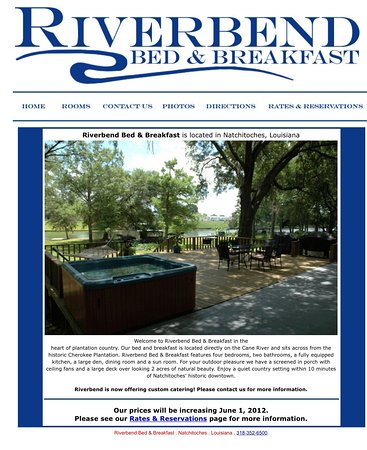 Natchitoches, لويزيانا: Riverbend Bed & Breakfast