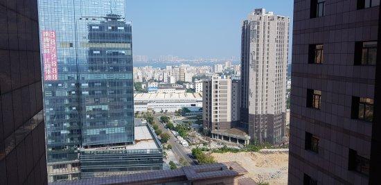 Zhanjiang from the bay - 広東...