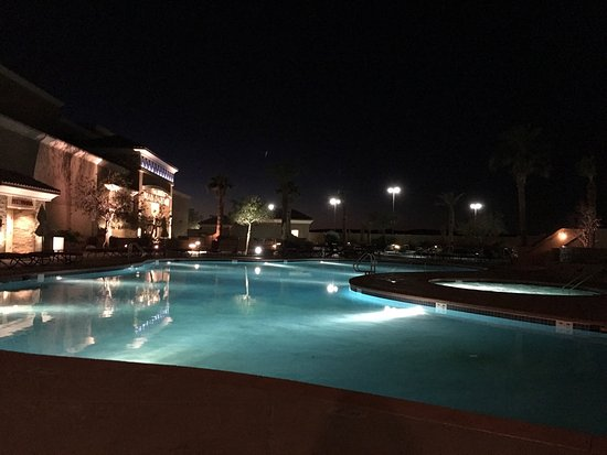 Winterhaven, Kalifornien: The pool and the lazy river.