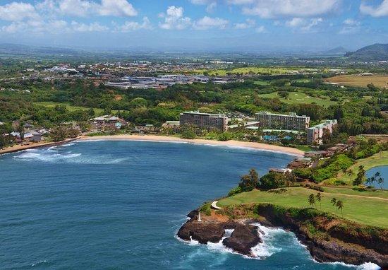 Marriott's Kaua'i Beach Club: Aerial View