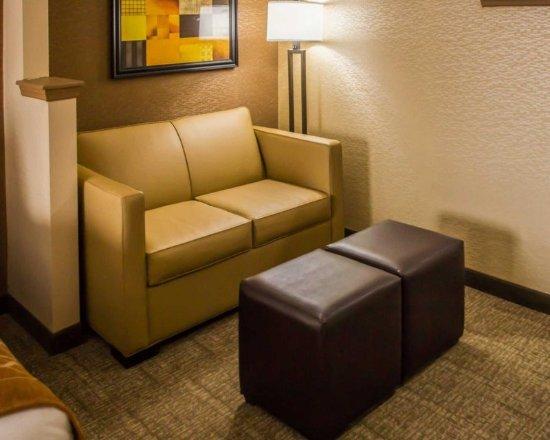 North Bergen, NJ: Guest room with sofa sleeper