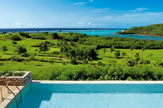 Canouan: Golf Course view from Four Bedroom Villa