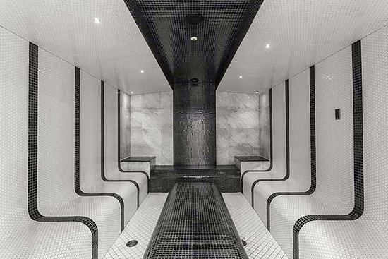 Burnaby, Canadá: Salt Steam Room