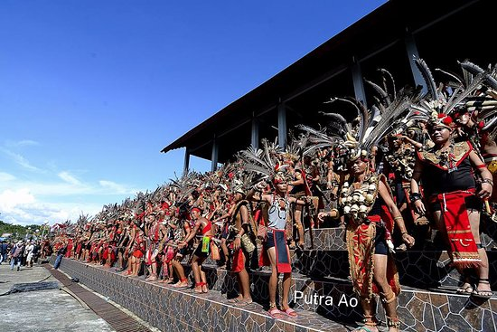Pontianak, Indonesia: Annual Gawai Dayak Festival