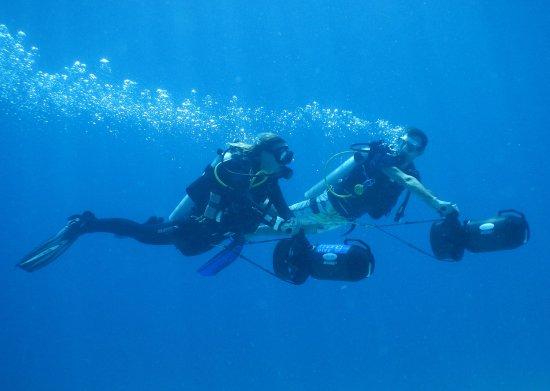 Gili Trawangan, Indonesia: Underwater Scooter / DPV