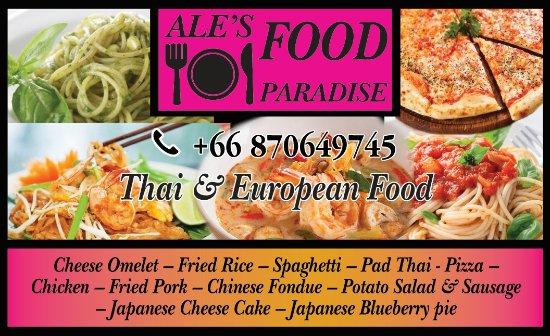 Ale's Food Paradise: getlstd_property_photo