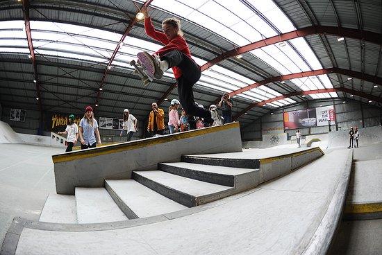 Chelles, Γαλλία: Skatepark interieur