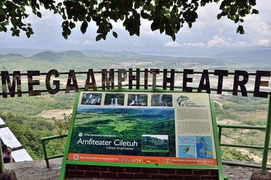 Sukabumi, Indonesien: Amfiteater